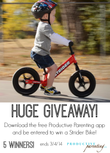 Productive Parenting Giveaway