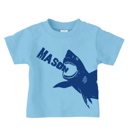 Personalized shark shirt - 10% OFF