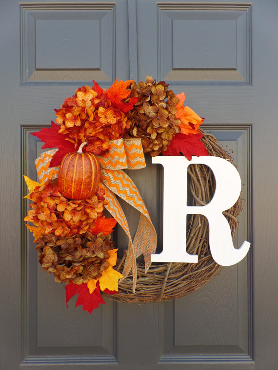 Fall wreath from Celestialwreaths - 20% OFF