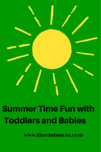 SummerTime Fun with Toddlers and Babies