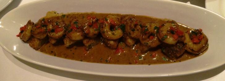 Group Favorite Appetizer - Black Pepper Shrimp - Brio