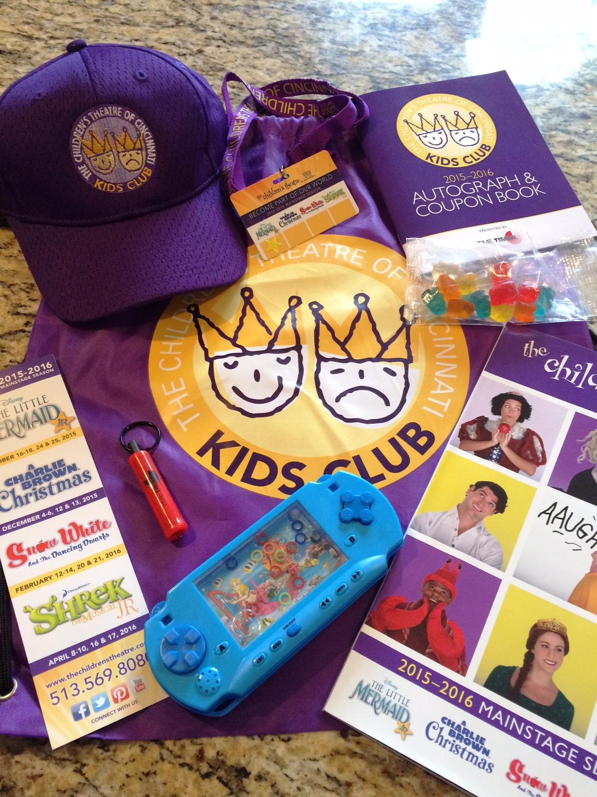 Kids Club Swag Bag